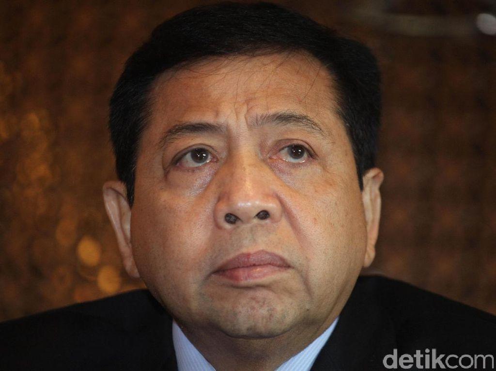 Novanto Sudah Terima Surat Panggilan KPK terkait Korupsi e-KTP