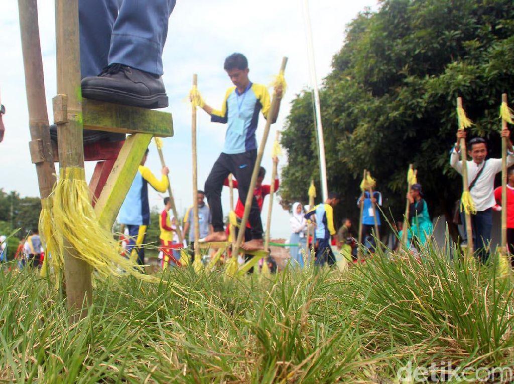 PLS di Kota Tegal, Siswa Baru Ikuti Lomba Tradisional