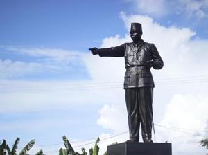 Tugu Soekarno di Palangka Raya Jadi Cagar Budaya