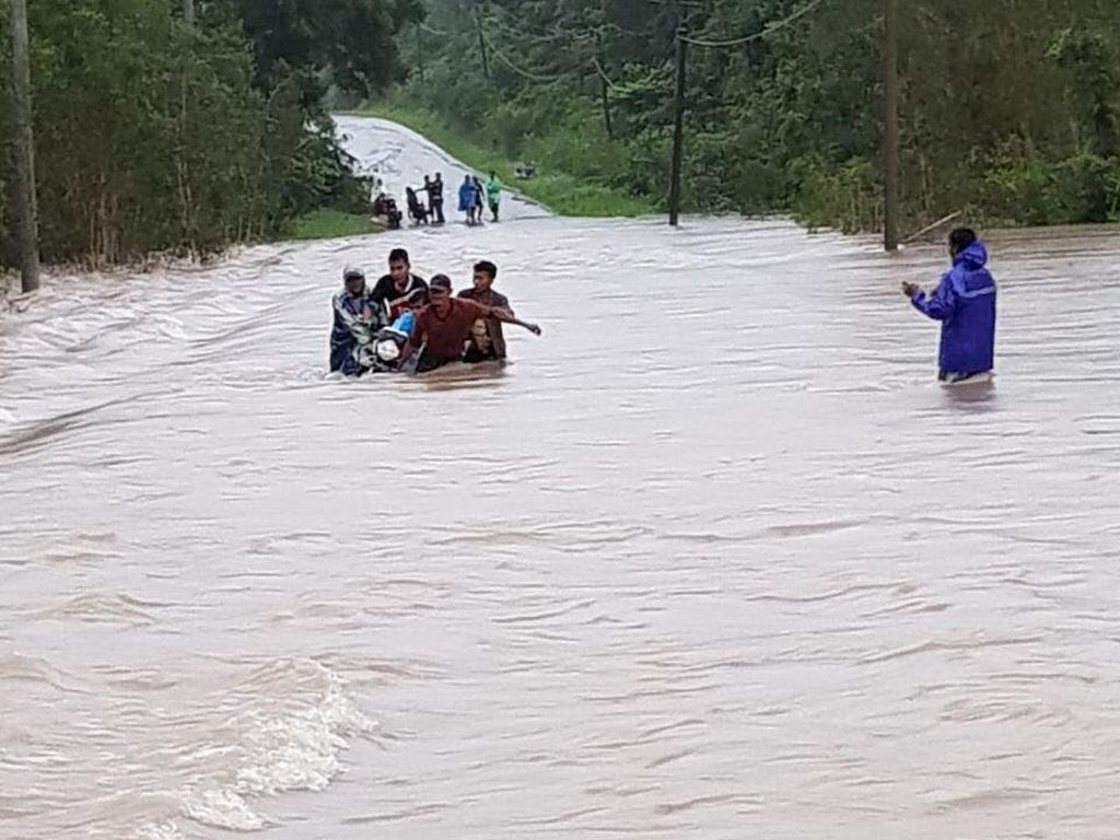 Banjir di Belitung dan Belitung Timur, 1.530 Orang Mengungsi