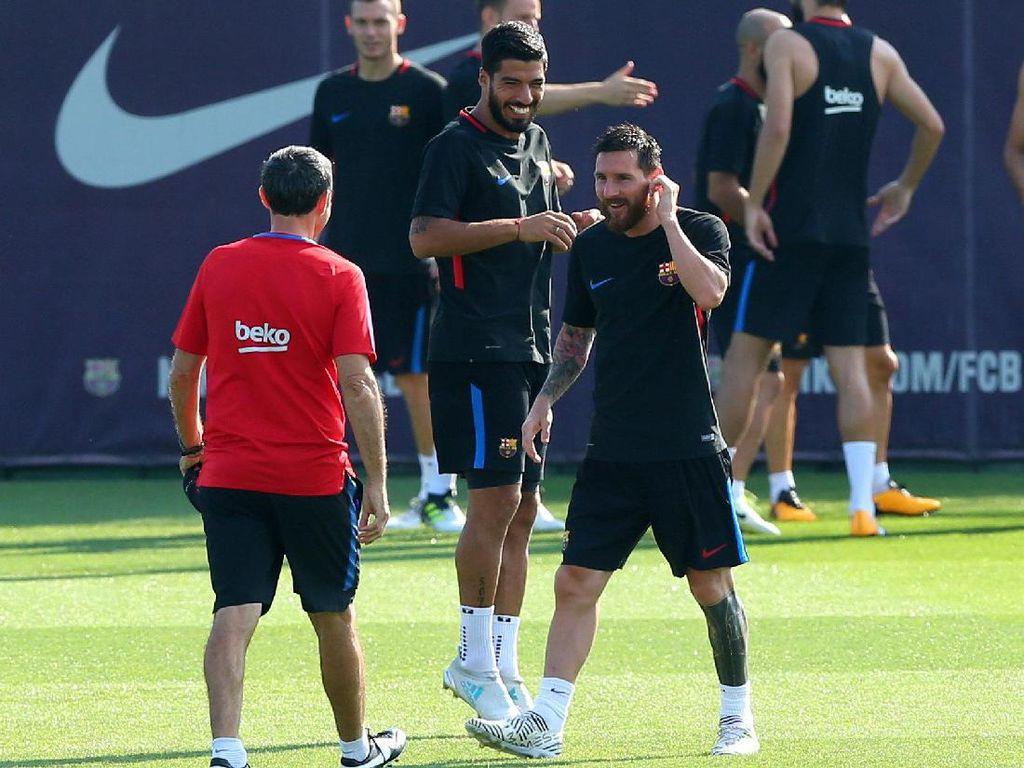 Latihan Lionel Messi cs di Bawah Arahan Ernesto Valverde