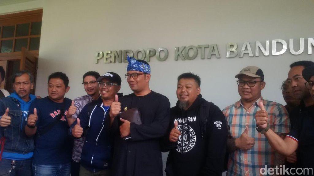 Ridwan Kamil Ajak Bobotoh Kampanye Positif di Medsos Jelang Persib Vs Persija