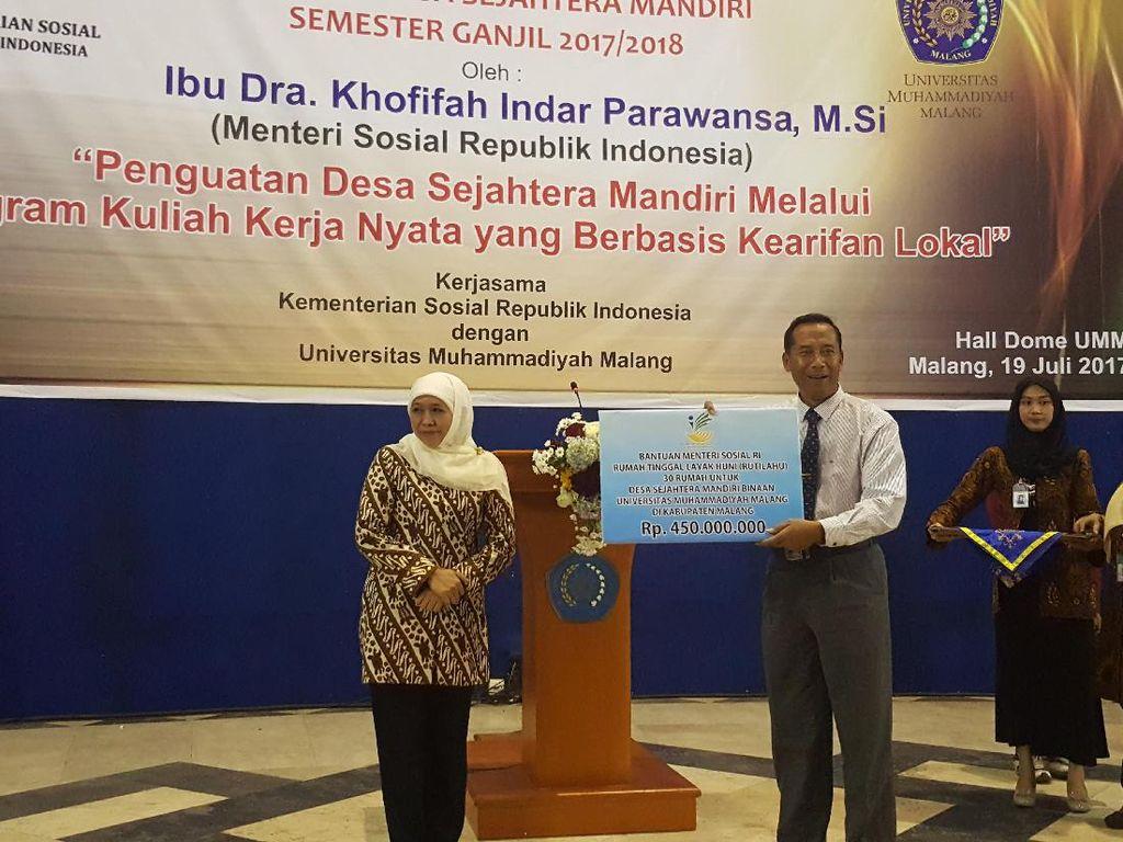 Kemensos Kucurkan Rp 450 Juta untuk Pengembangan Desa Mandiri