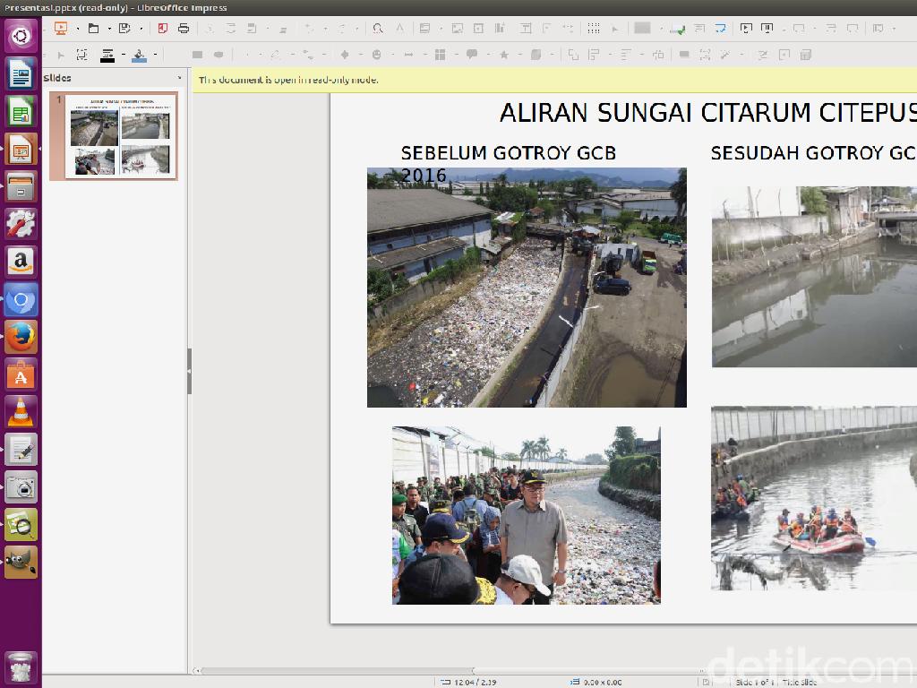DLH Jabar: Citarum Bestari Berhasil Kurangi Sampah Sungai 50 Persen