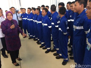 Pesan Risma untuk Siswa Penerima Beasiswa ATKP Agar Bermental Baja