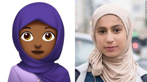 Wanita di Balik Emoji Hijabers Ini Disebut Remaja Paling Berpengaruh di 2017