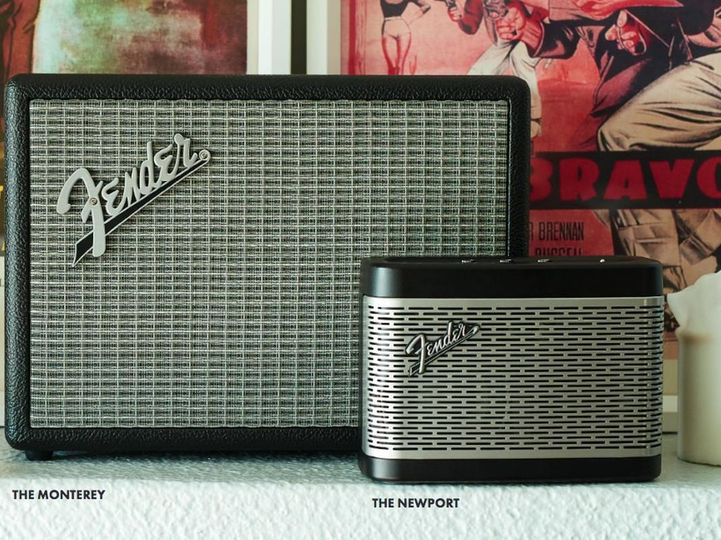 Fender Rilis Speaker Bluetooth Amplifier Mungil