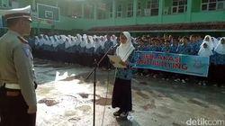 Ribuan Pelajar SD dan SMP di Cianjur Deklarasi Anti-Bullying