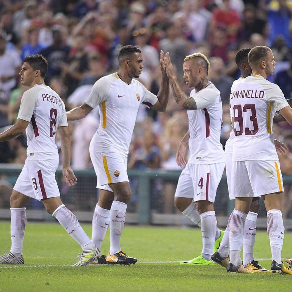 Roma Akan Perlakukan Uji Coba Lawan Sevilla bak Laga Serie A