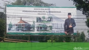 Arsitektur Masjid Kalijodo Akan Seperti di Zaman Walisongo