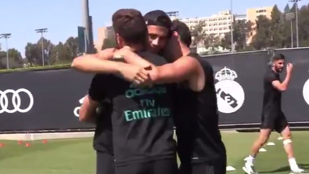 Salam dan Peluk dalam Perpisahan Morata dengan Real Madrid