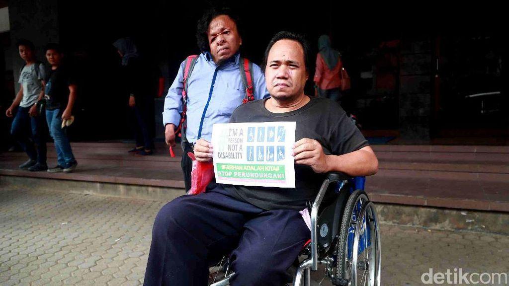 Foto: Para Aktivis Difabel Datangi Kampus Gunadarma