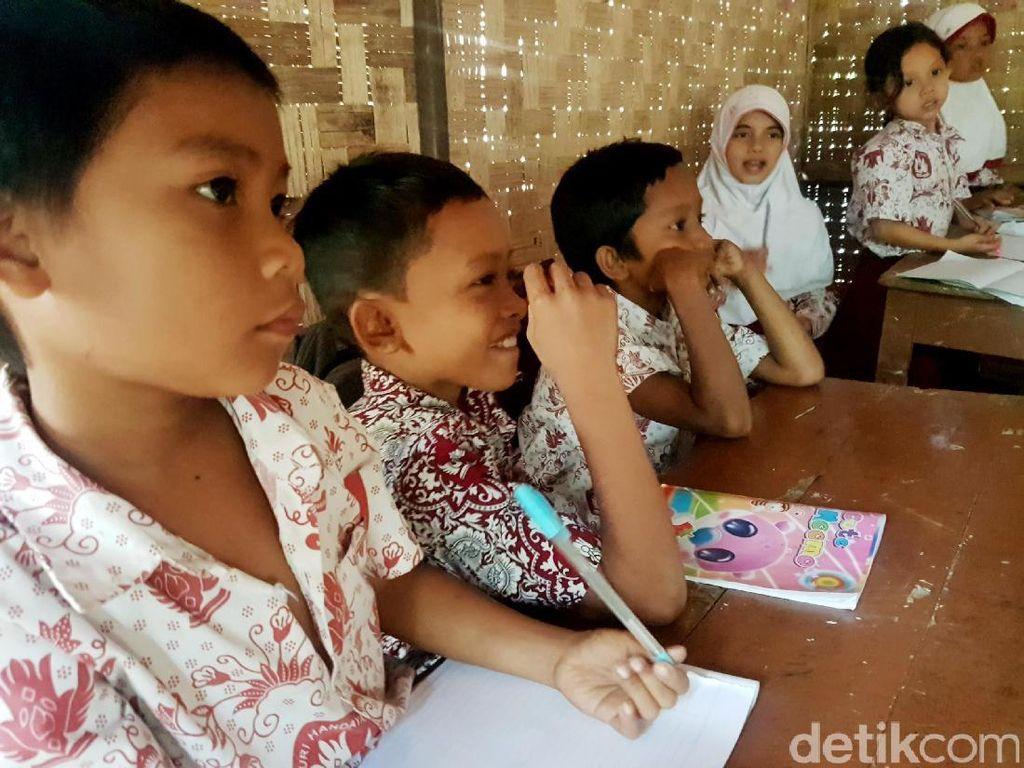 Semangat Siswa SD Sorongan, Sekolah Laskar Pelangi di Pandeglang