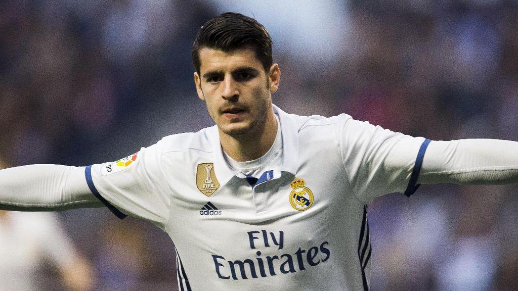 Kesempatan Main di Madrid Terbatas, Morata Diyakini Tetap Tokcer di Chelsea