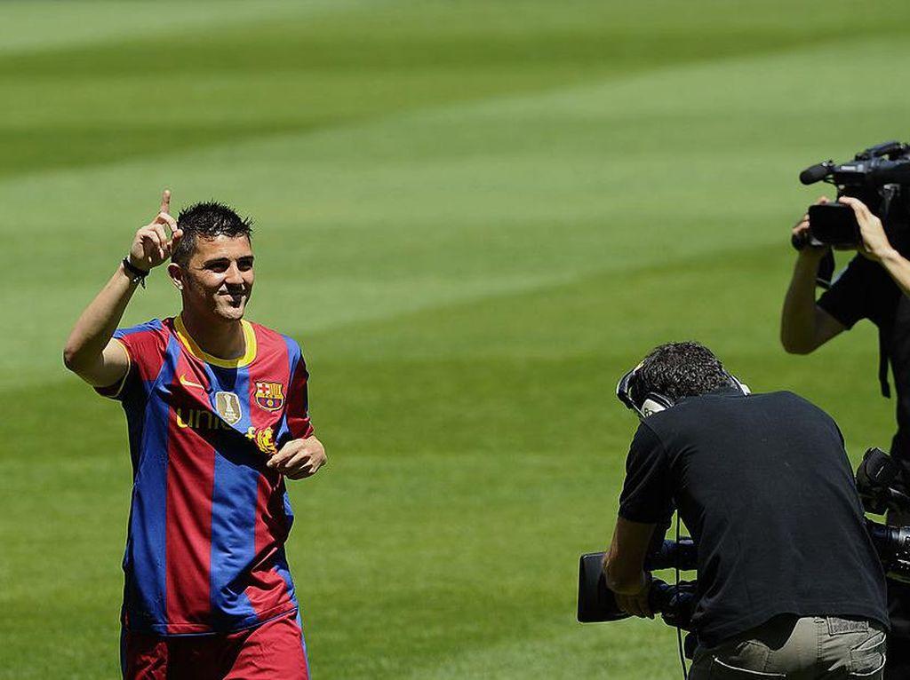David Villa: Gagal ke Real Madrid, Sukses Besar di Barcelona