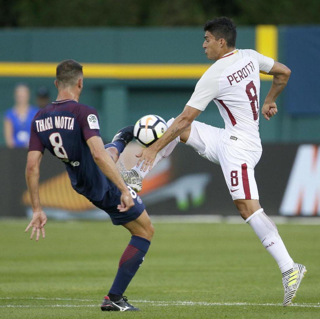 PSG Kalahkan Roma Lewat Adu Penalti