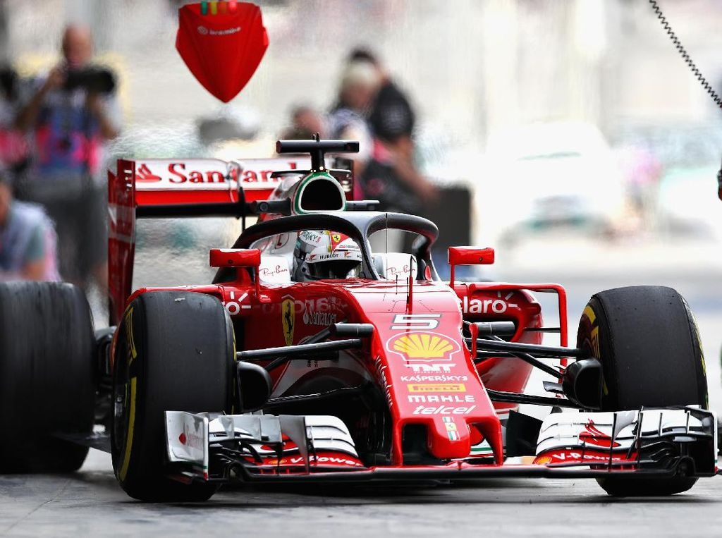 Halo di F1, Malaikat Penyelamat yang Bisa Tahan Beban Seberat Bus Tingkat