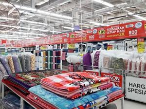 Diskon Sampai 50% Perlengkapan Tekstil di Transmart dan Carrefour