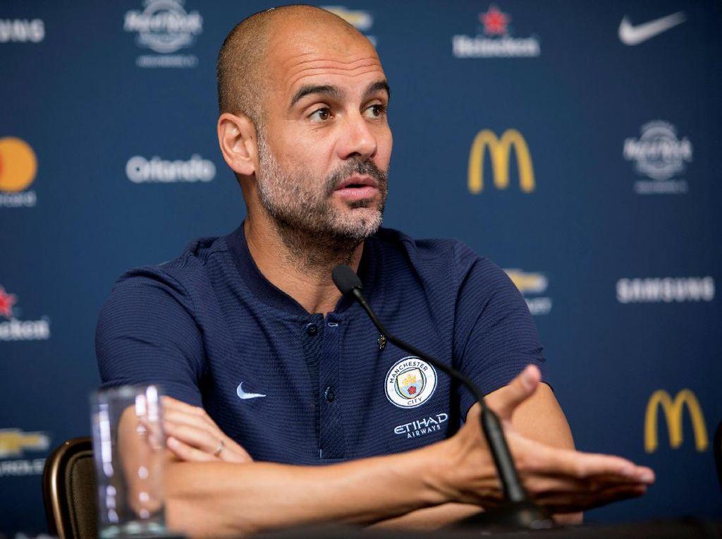 Redam Rumor Sanchez, Guardiola Juga Kembali Tegaskan Aguero Akan Tetap di City