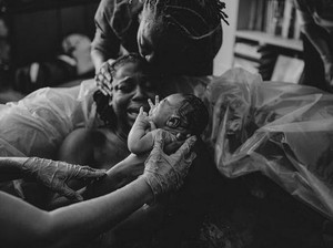 Foto: Haru! Momen Sesaat Setelah si Kecil Lahir
