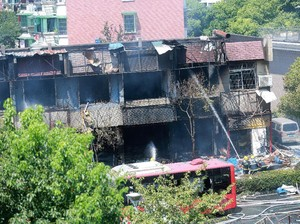 Ledakan Guncang Hangzhou China, 2 Orang Tewas dan 55 Luka-luka