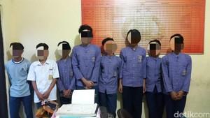 Polsek Cicurug Gagalkan Aksi Tawuran Pelajar SMP di Sukabumi