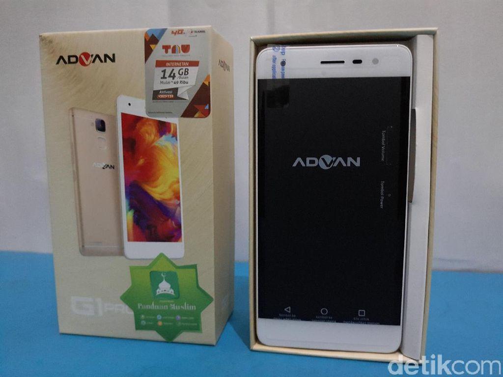 Unboxing Advan G1 Pro
