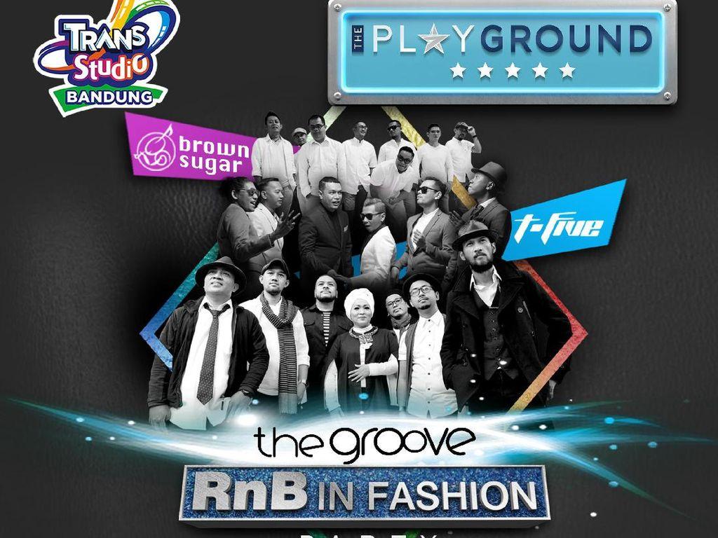 Yuk, Goyang Bareng The Groove Akhir Minggu Ini di Trans Studio Bandung