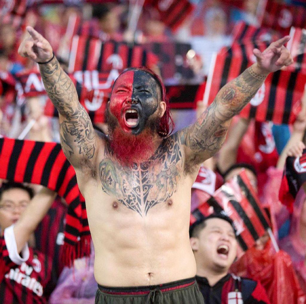 Milan Ungguli Bayern 3-0 di Babak Pertama
