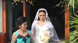 <i>Happy Wedding</i>! Sammy Simorangkir Akhirnya Resmi Akhiri Masa Janda Viviane