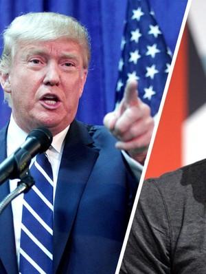 Kebijakan Trump Soal Imigran Dikecam Facebook dkk