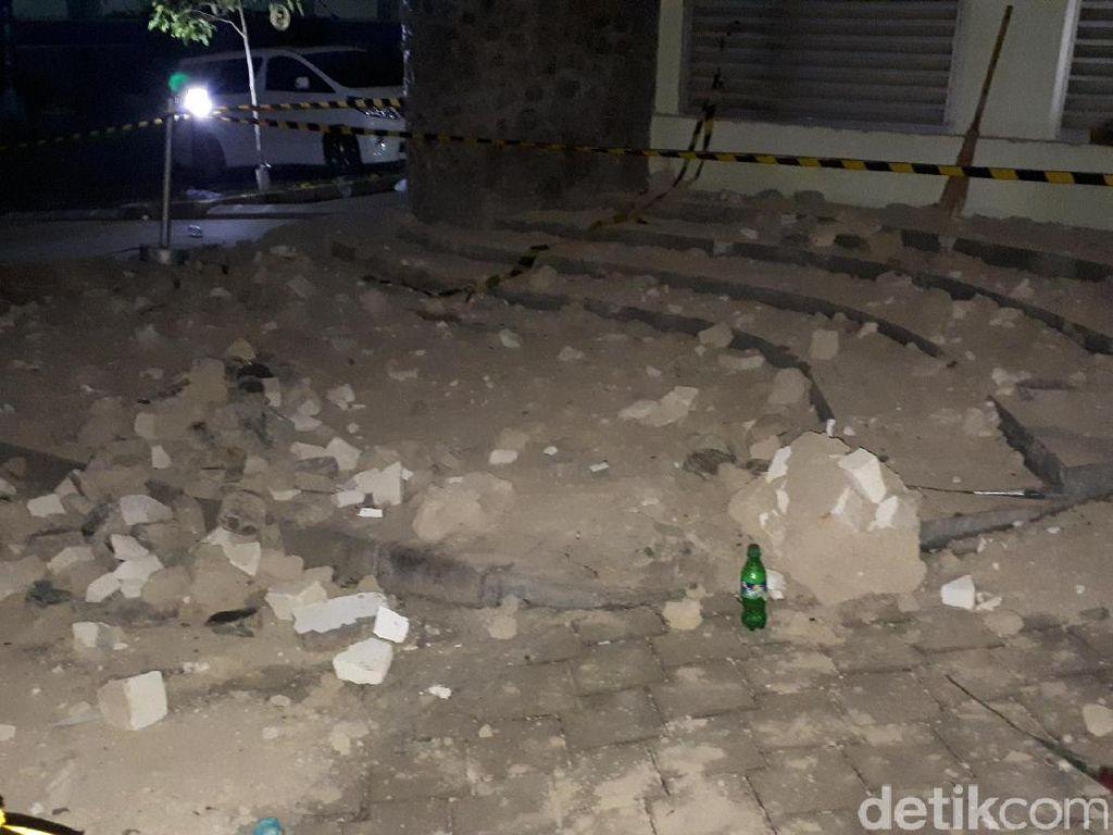 Batu Pilar Runtuh, Gedung CADL ITB Baru Dibangun Setahun