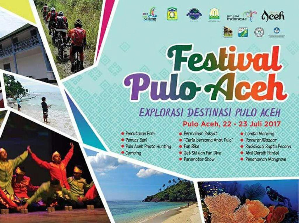 Akhir Pekan di Tanah Rencong, Yuk ke Festival Pulo Aceh