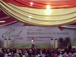 Ini yang Bikin Presiden Jokowi Kagumi Syekh Nawawi Al Bantani