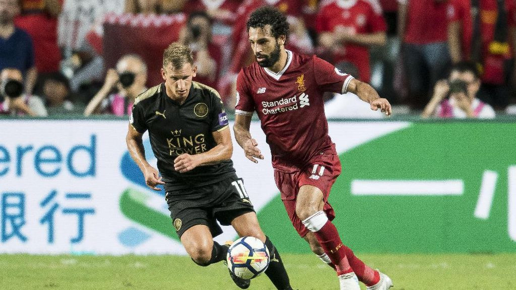 Gol Salah dan Coutinho Bawa Liverpool Kalahkan Leicester