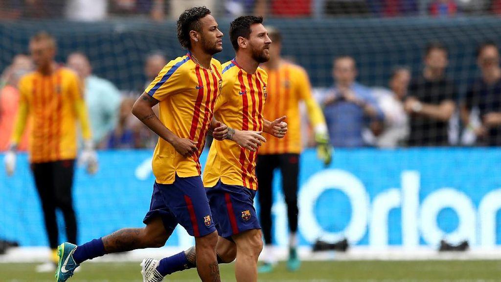 Neymar Dua Gol, Barca Sementara Ungguli Juve 2-0