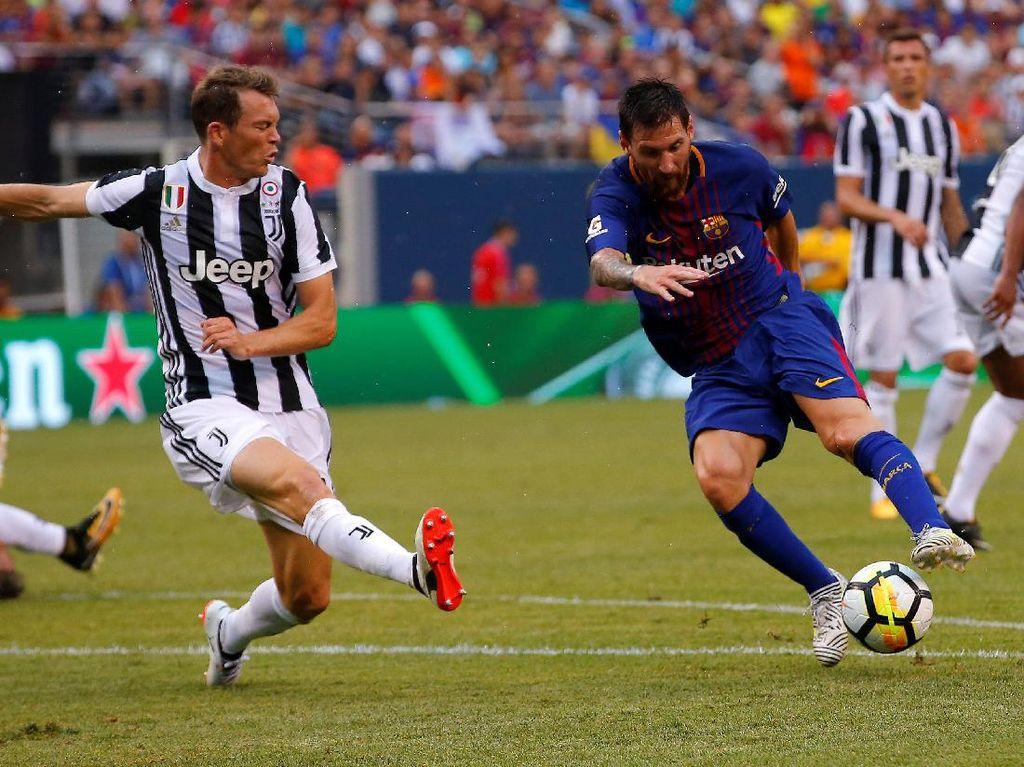 Neymar Gemilang, Barcelona Taklukkan Juventus