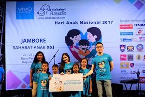 Kado Spesial Vivo di Hari Anak Nasional 2017