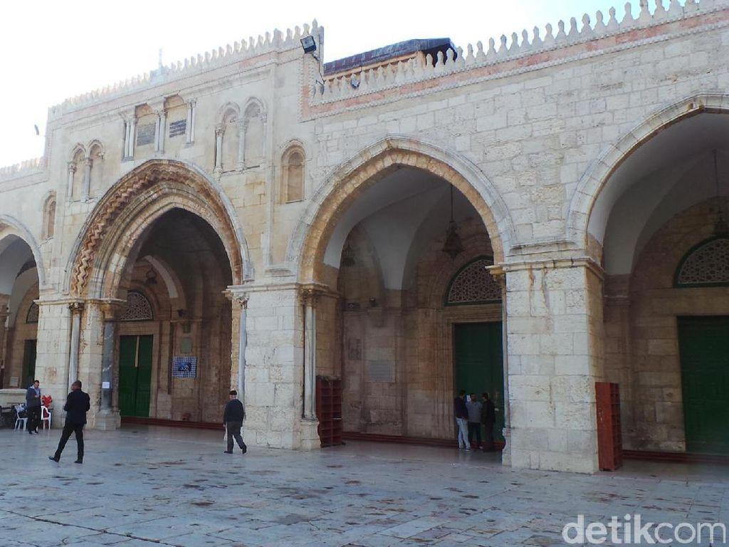 Penyebab Kebakaran di Kompleks Al-Aqsa Diselidiki, Diduga Ulah Anak-anak