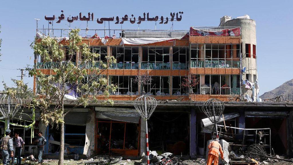 Porak Poranda, Begini Kondisi Pasca Serangan Bom Mobil di Kabul