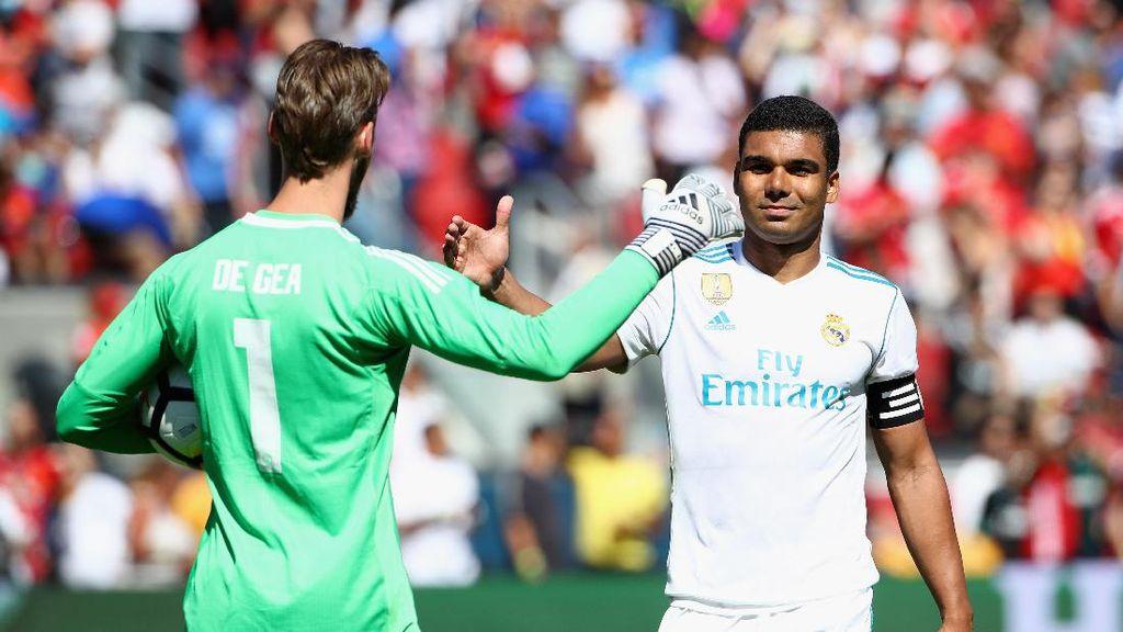 Momen Membanggakan Casemiro Jadi Kapten Madrid