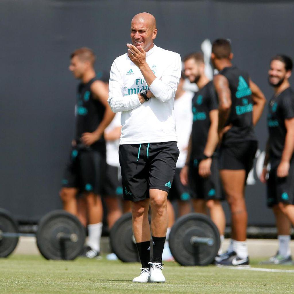 Zidane Belum Minta Madrid untuk Cari Pengganti Morata