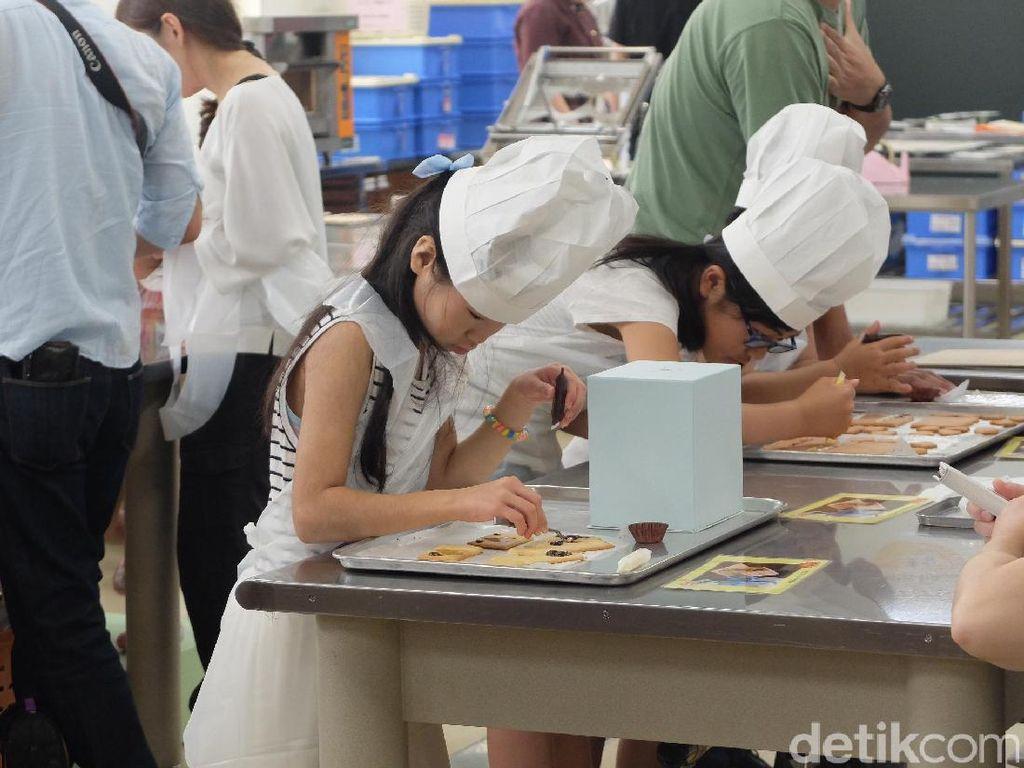 Foto: Belajar Melukis Kue di Jepang