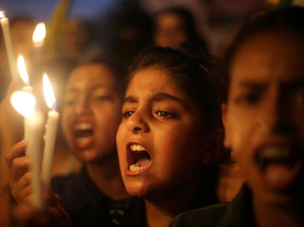 Suara Lantang Anak-anak Palestina Lawan Israel