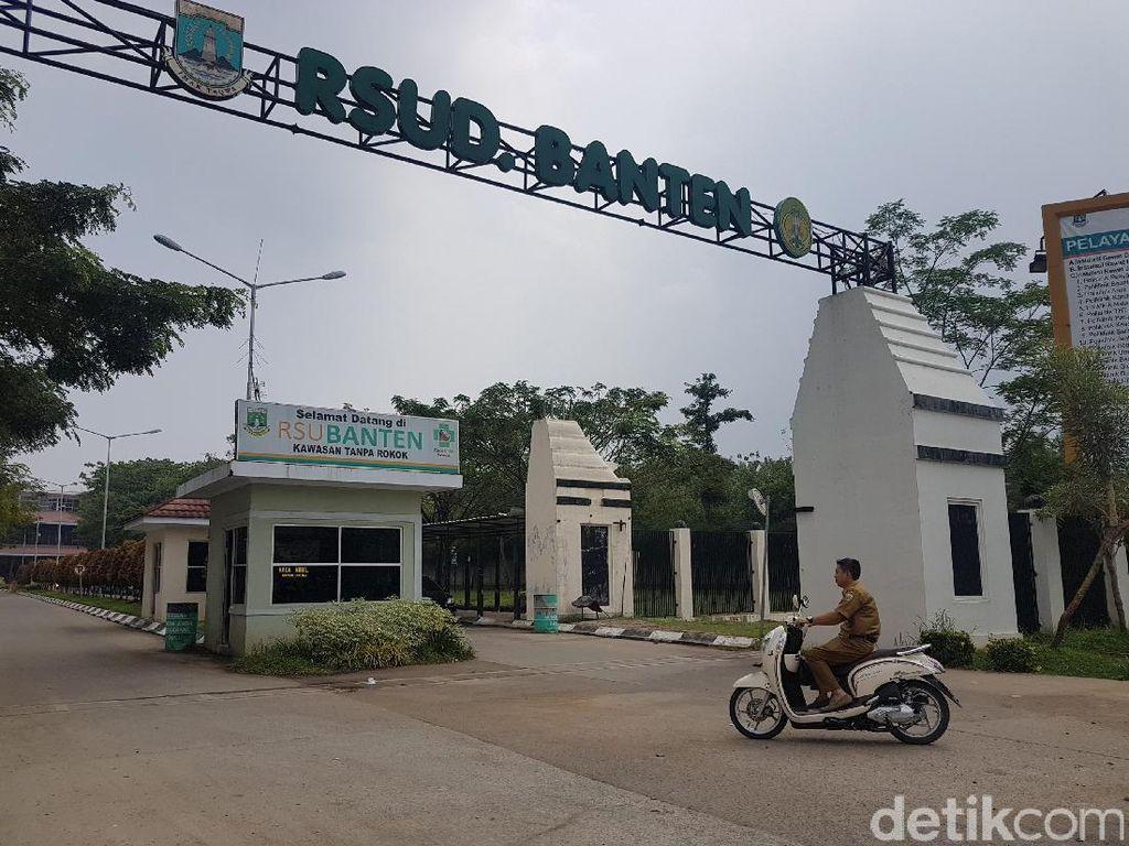 Tim Medis COVID-19 di RSUD Banten Mengeluh Insentif Belum Cair
