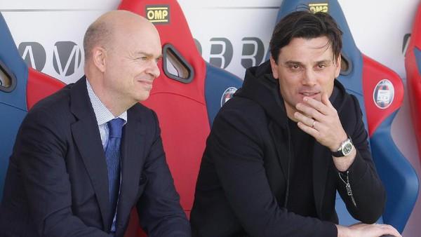 Memecat Montella Keputusan Menyakitkan untuk Milan, tapi Dibutuhkan
