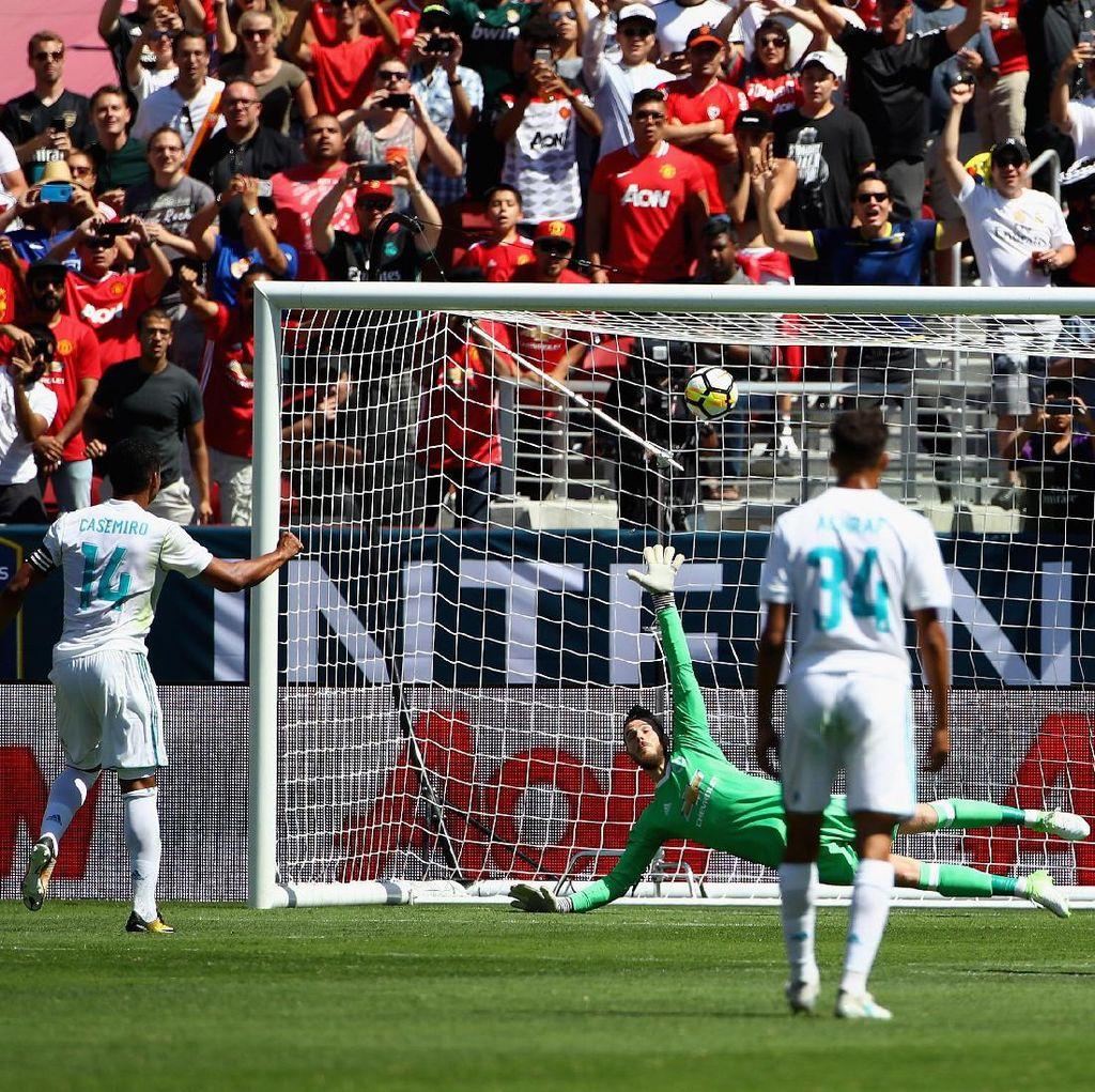 Meski Kalah dari MU, Madrid Tetap Optimistis Tatap Piala Super Eropa