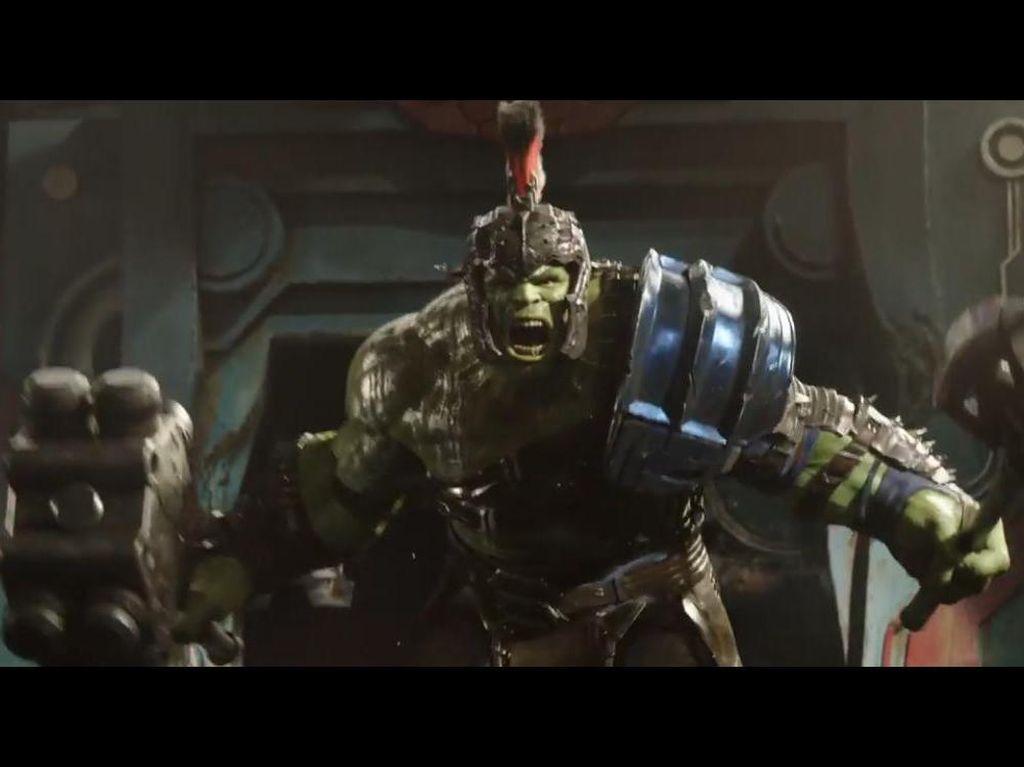 Thor: Ragnarok Jawaban Hilangnya Hulk di Akhir Avengers: Age of Ultron