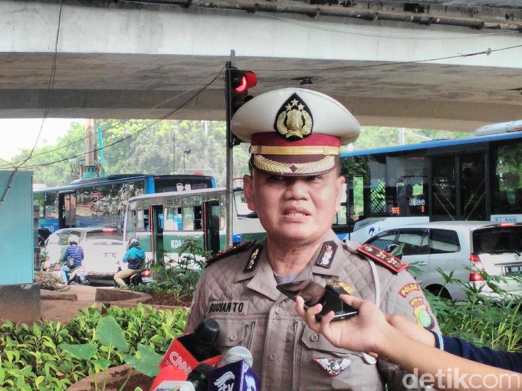 5.303 Pengendara Ditilang Selama 5 Hari Penindakan Ganjil-Genap