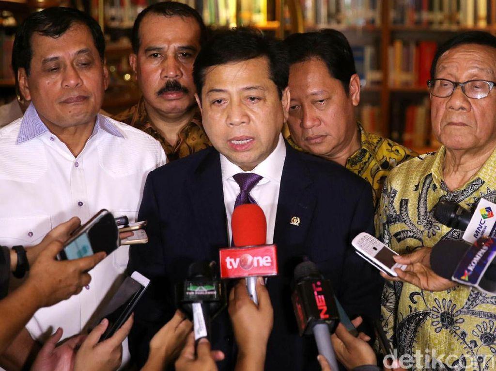 Novanto Akan Umumkan Pergantian Pengurus Golkar Pekan Depan
